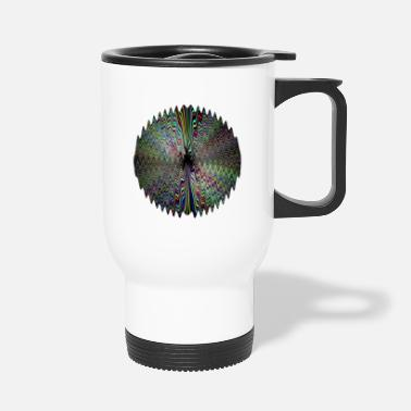 Dark Wave Dark waves of light - Travel Mug
