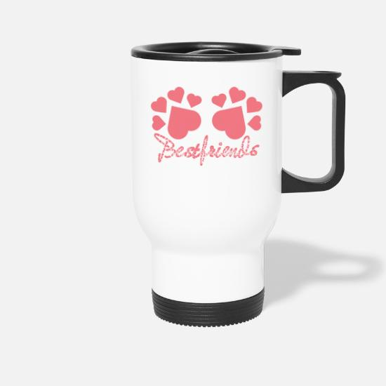 Pet Mugs & Drinkware - The Entire Dog Population Is My BestFriend nice - Travel Mug white