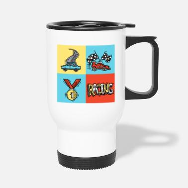 Sportscar sportscar racing 55 F - Travel Mug