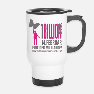 Astrid One Billion Rising eine der Milliarde - Thermobecher