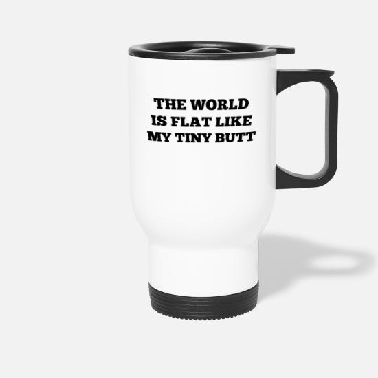 Flat Mugs & Drinkware - Flat earth - Travel Mug white
