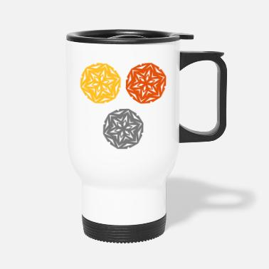 Different Huge snowflakes - Travel Mug