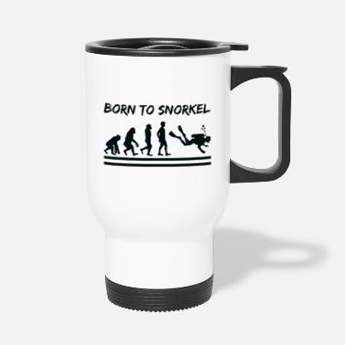 Wetsuit Diving Shirt evolution wetsuit gift - Travel Mug
