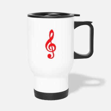 Music gift orchestra song gift idea music - Travel Mug