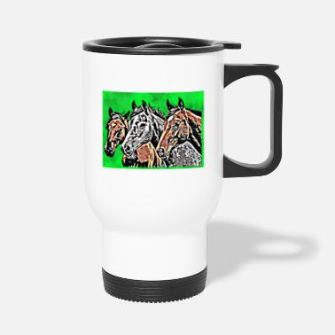 Richesse Les chevaux - Mug isotherme
