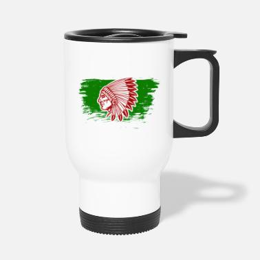 American Indian Native American Indians - Travel Mug