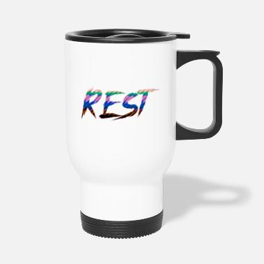 Rest rest J - Travel Mug