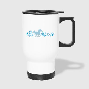 cheval au galop - Mug thermos