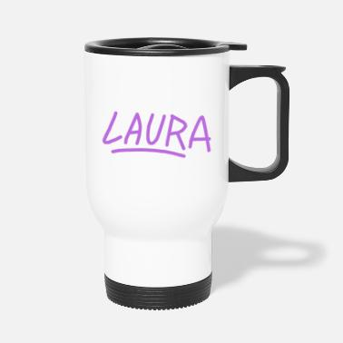 Vorname Laura Vorname - Thermobecher