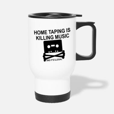 Personalize: Home Taping - Travel Mug
