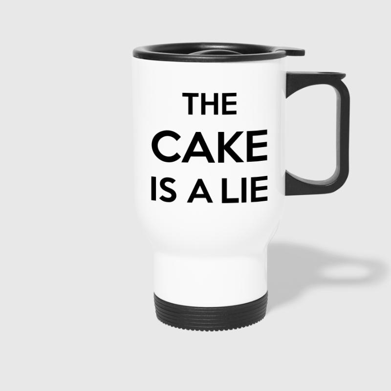 The Cake Is A Lie - Kubek termiczny