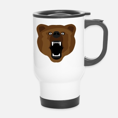 Agressif Ours / Ours / Медвед / agressif - Mug thermos