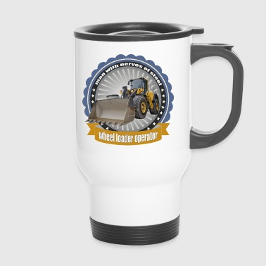 Construction Machine - Travel Mug