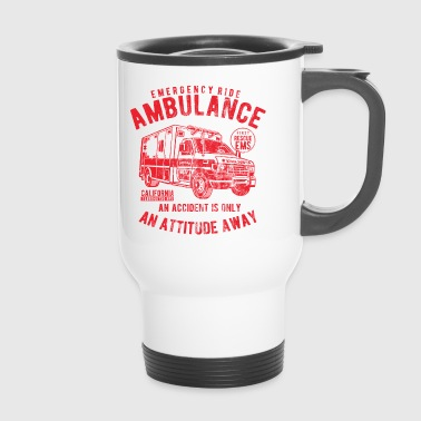AMBULANCE - Ambulance Shirt Design - Thermo mok