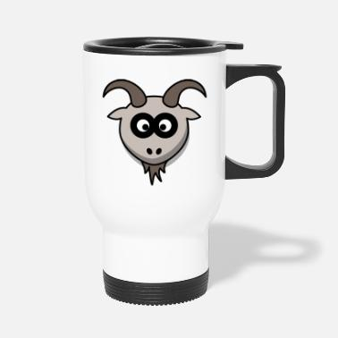 Goat goat goat - Travel Mug