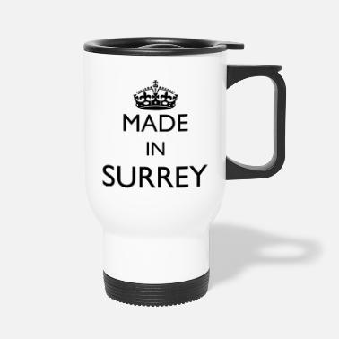 Personalise: Made In Surrey - Travel Mug