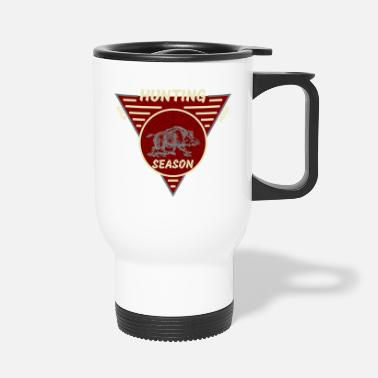 Hog Hunting Season Wild Hogs - Travel Mug