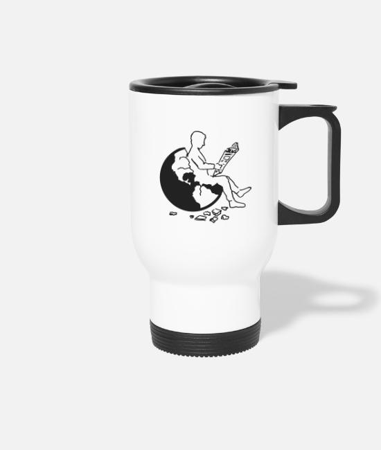 Earth Mugs & Drinkware - Earth - Travel Mug white