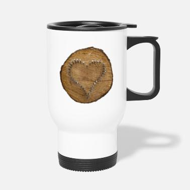 Heart - a sign of love - Travel Mug