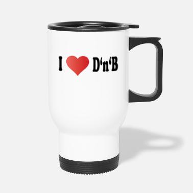 Bass drum and bass - Travel Mug