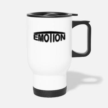 Emotion emoTion - svart - Termosmugg
