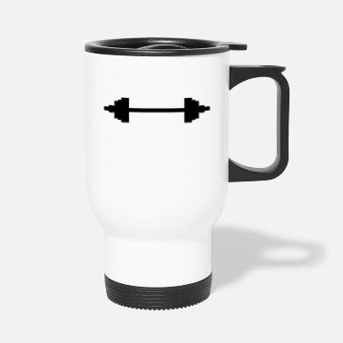 Lifting weight_lifting_f1 - Travel Mug
