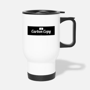 Carbon Carbon Copy - Travel Mug