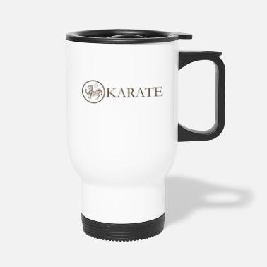 Karate Karate-Karate-Logo - Thermobecher
