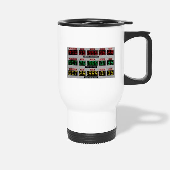 Futur Mugs et récipients - Time machine - Mug isotherme blanc