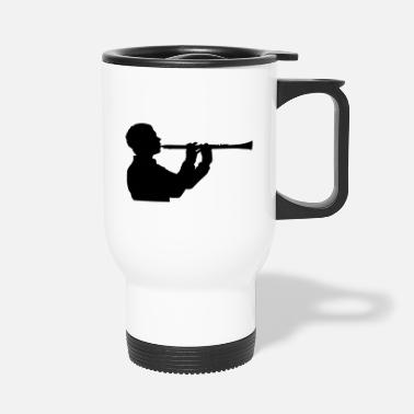 Instrument clarinet instrument - Travel Mug