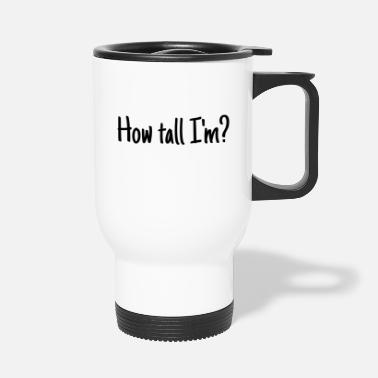 Drague amusement, amusez-vous, rire, phrase, citation, phrase, lus - Mug isotherme