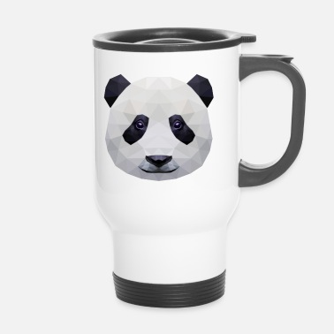 Panda Low Poly - Mug thermos