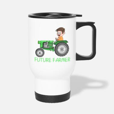 Farmer Offspring farmer - farmer - future farmer - Travel Mug