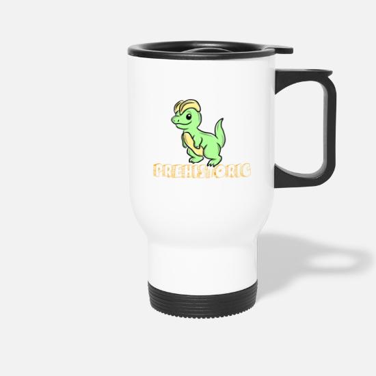 Gift Idea Mugs & Drinkware - dinosaur - Travel Mug white