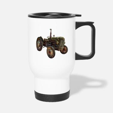 Agriculteur Tracteur, agriculteur, agriculteur, - Mug isotherme
