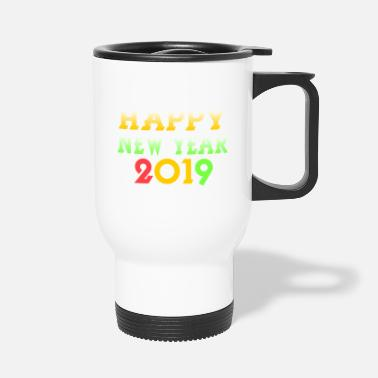 Nouvel An Nouvel An 2018 Nouvel An - Mug isotherme