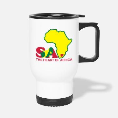 South Africa South Africa - The Heart Of Africa - Travel Mug