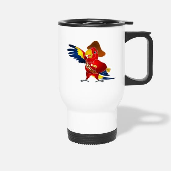 Pirate Mugs et récipients - Koko le Pirate - Mug isotherme blanc