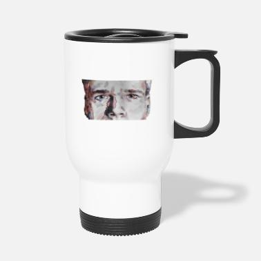 Watercolor portrait boy - Travel Mug