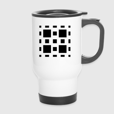 Abstrait Art Abstrait - Mug thermos