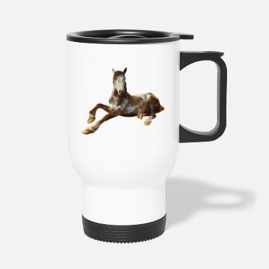 Sit Horse sitting - Travel Mug