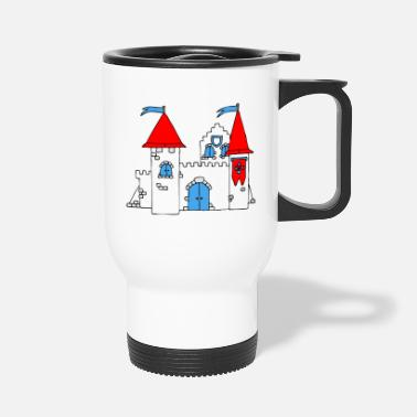 Medieval Medieval Castle - Travel Mug