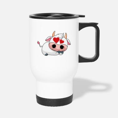 Dairy Cow Loved Dairy Cow - Design - Travel Mug