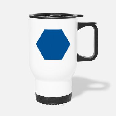 Hexagons Hexagon - Travel Mug