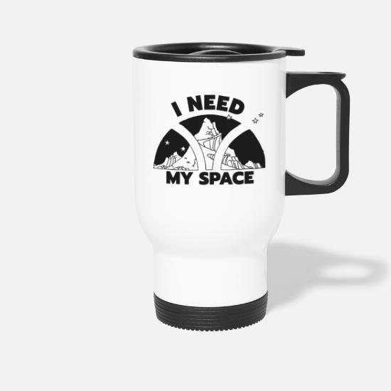 Space Mugs & Drinkware - MY SPACE - Travel Mug white