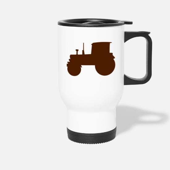 Fruit Mugs & Drinkware - Tractor - Travel Mug white