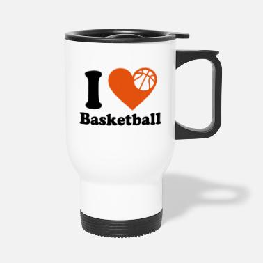 Ich Liebe Basketball Basketball - Ich liebe basketball - Thermobecher