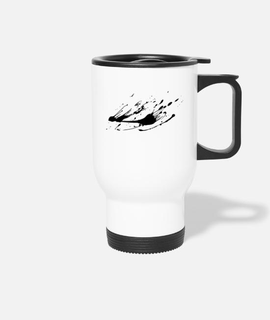Artist Mugs & Drinkware - Paint - Travel Mug white