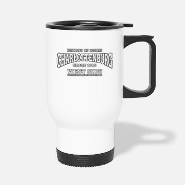 West Berlin Charlottenburg Berlin West Side (white) - Travel Mug