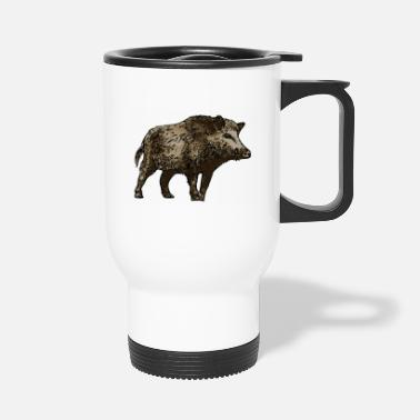 Wild wild boar - Travel Mug